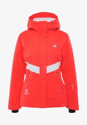 KELO JACKET - Lyžařská bunda - neon fiery coral