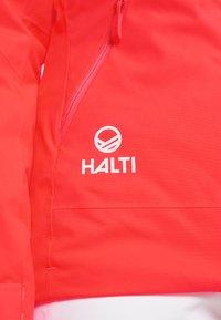 Halti - KELO JACKET - Ski jas - neon fiery coral - 7