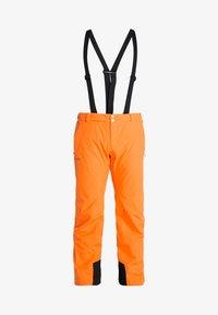 Halti - PUNTTI PANTS - Schneehose - vibrant orange - 7