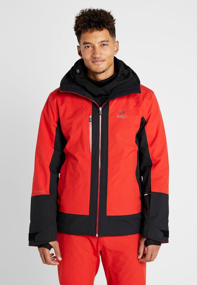 PODIUM JACKET - Veste de ski - lava red