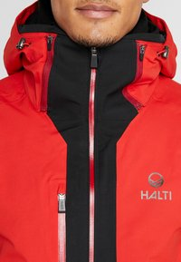 Halti - PODIUM JACKET - Skijacke - lava red - 4