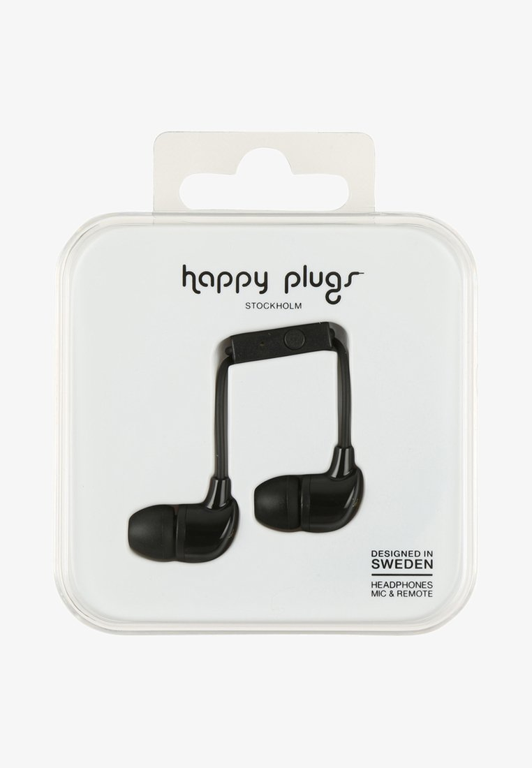 Happy Plugs - Headphones - black