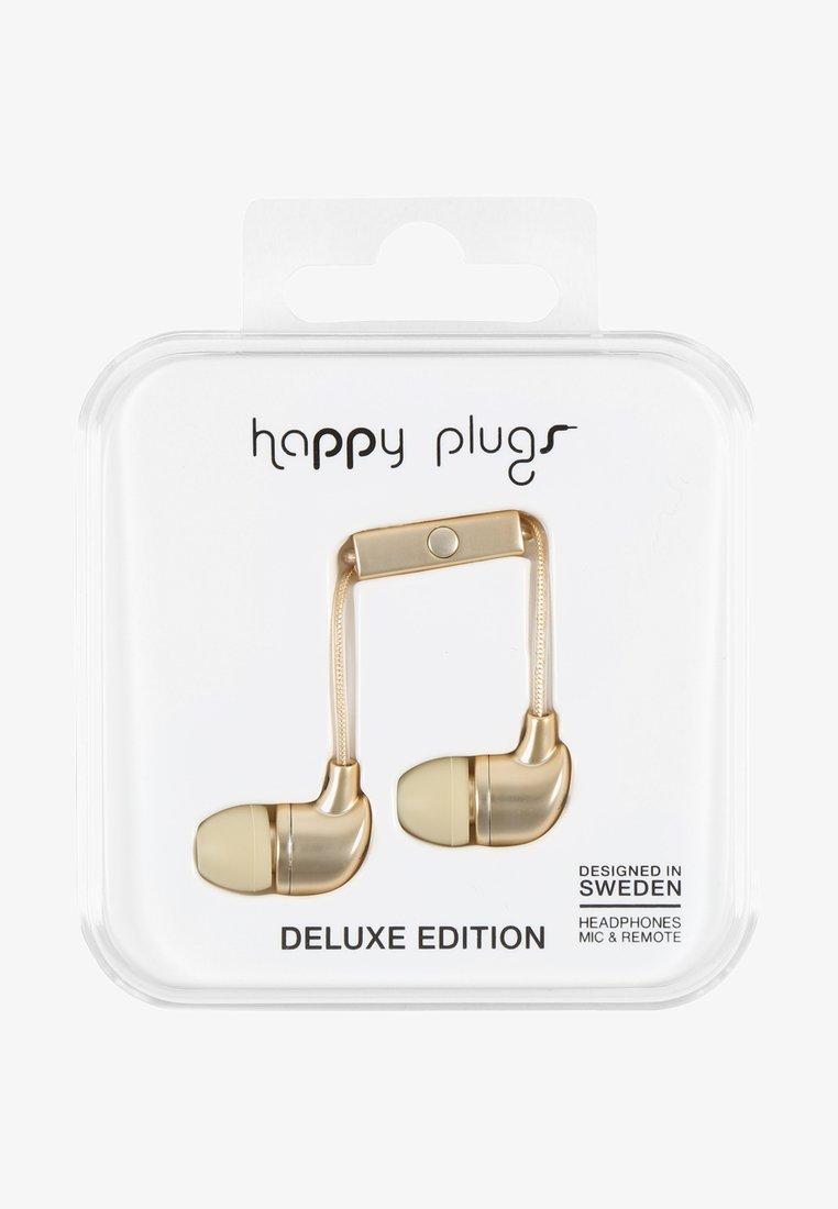Happy Plugs - DELUXE - Headphones - champagne