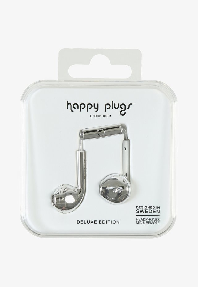 PLUS DELUXE - Headphones - silver