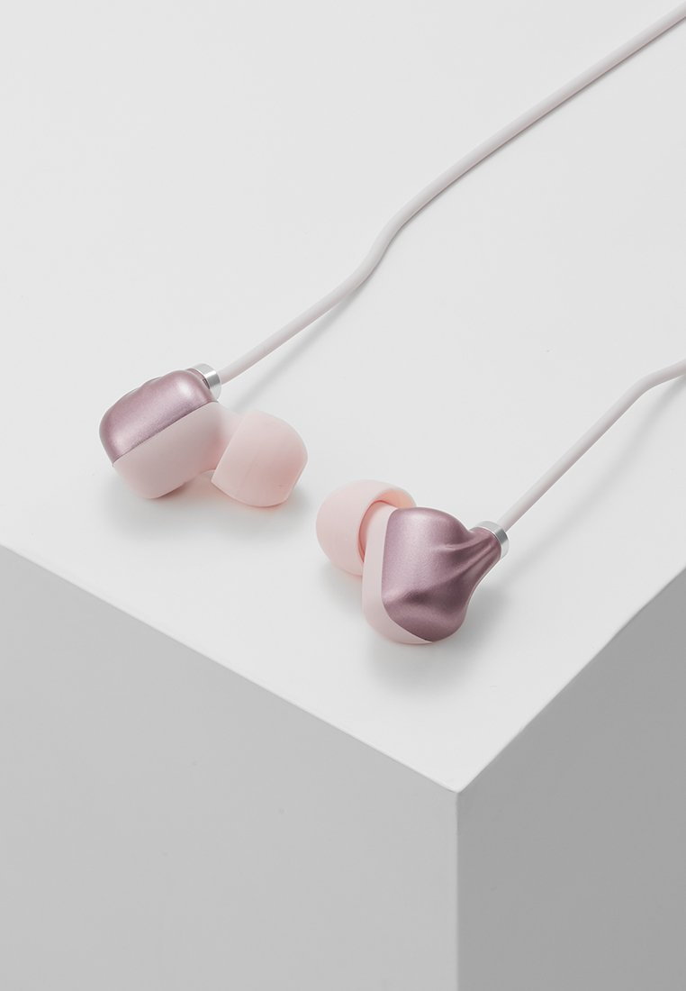 IiCasque Pink Piece Happy Ear Plugs gold coloured 354LqARcj