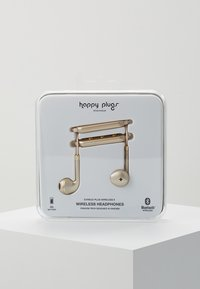 Happy Plugs - WIRELESS II - Høretelefoner - matte gold-coloured - 0