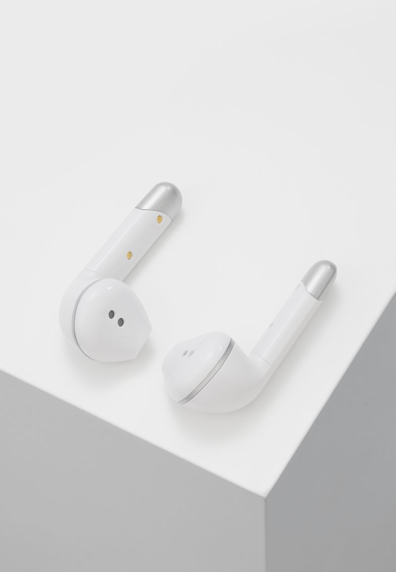 Happy Plugs - AIR 1 TRUE WIRELESS HEADPHONES - Kopfhörer - white