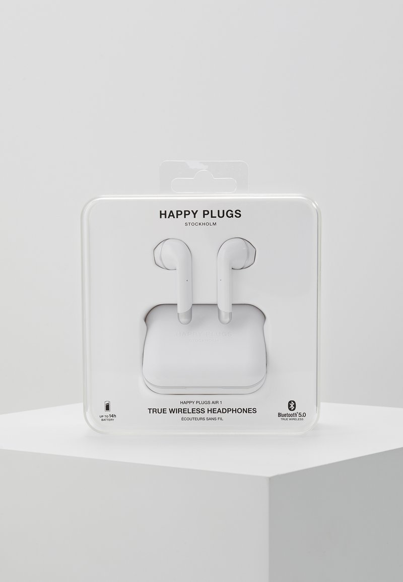 Happy Plugs - AIR 1 TRUE WIRELESS HEADPHONES - Kopfhörer - white