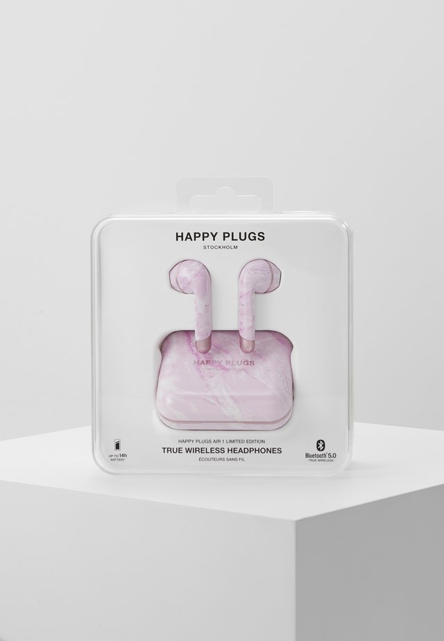 AIR 1 TRUE WIRELESS HEADPHONES - Hörlurar - pink