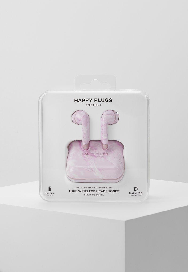 Happy Plugs - AIR 1 TRUE WIRELESS HEADPHONES - Høretelefoner - pink