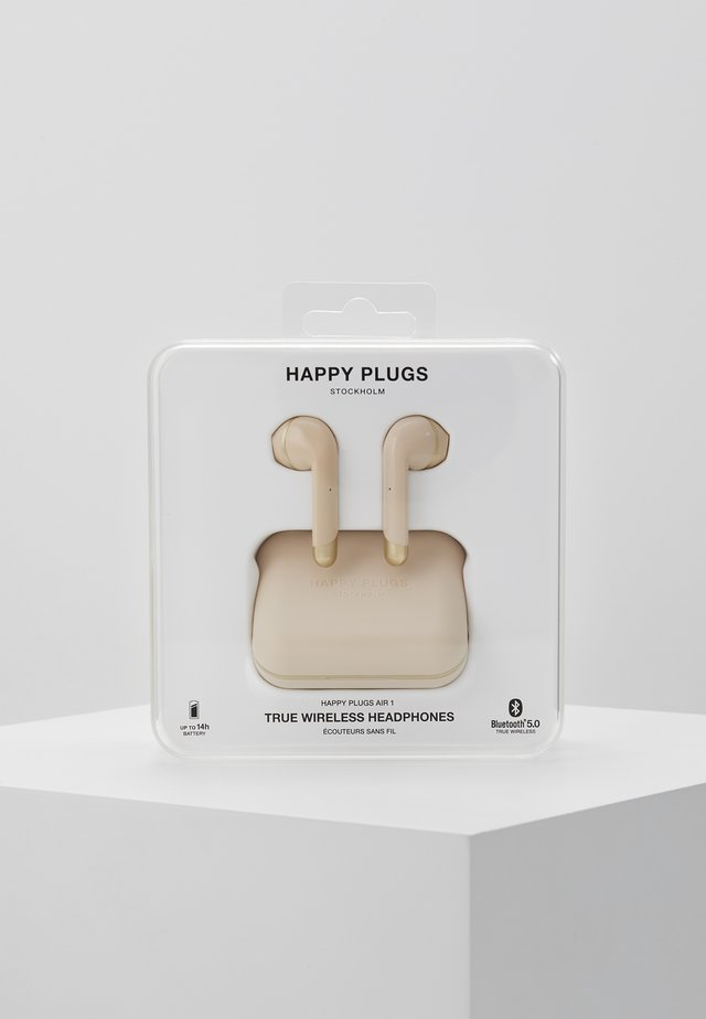 Høretelefoner - gold-coloured