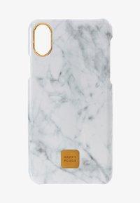 Happy Plugs - HAPPY PLUGS IPHONE X SLIM CASE - Mobiltasker - white marble - 1