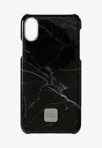 Happy Plugs - HAPPY PLUGS IPHONE X SLIM CASE - Mobiltasker - black marble - 1