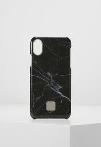 Happy Plugs - HAPPY PLUGS IPHONE X SLIM CASE - Mobiltasker - black marble - 0