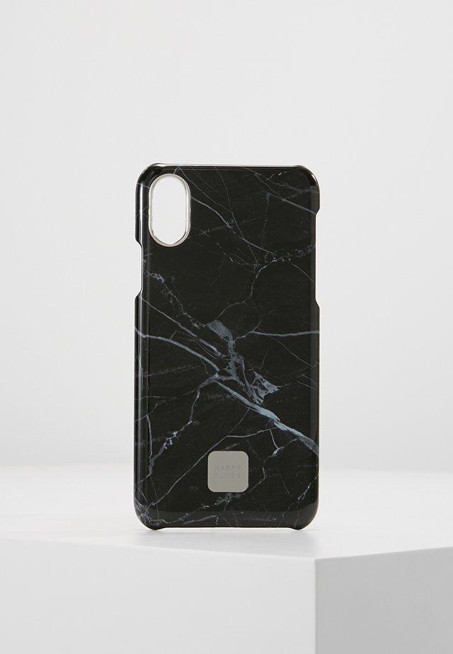 HAPPY PLUGS IPHONE X SLIM CASE - Mobiltasker - black marble