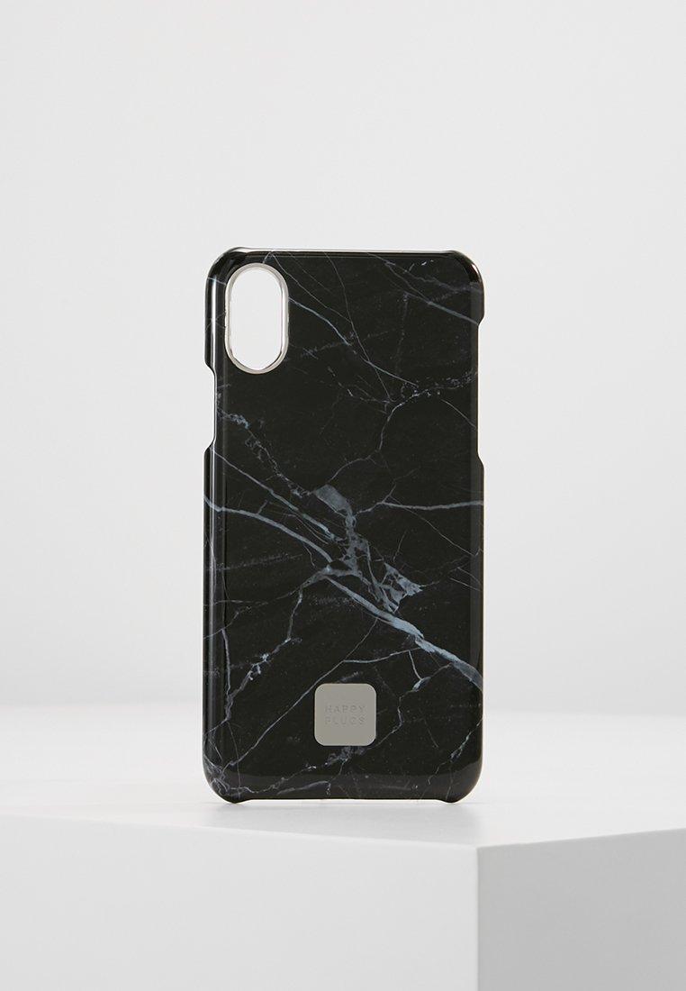 Happy Plugs - HAPPY PLUGS IPHONE X SLIM CASE - Mobiltasker - black marble