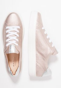 HASSIA - WIDE FIT BILBAO - Sneaker low - rose/silber - 3