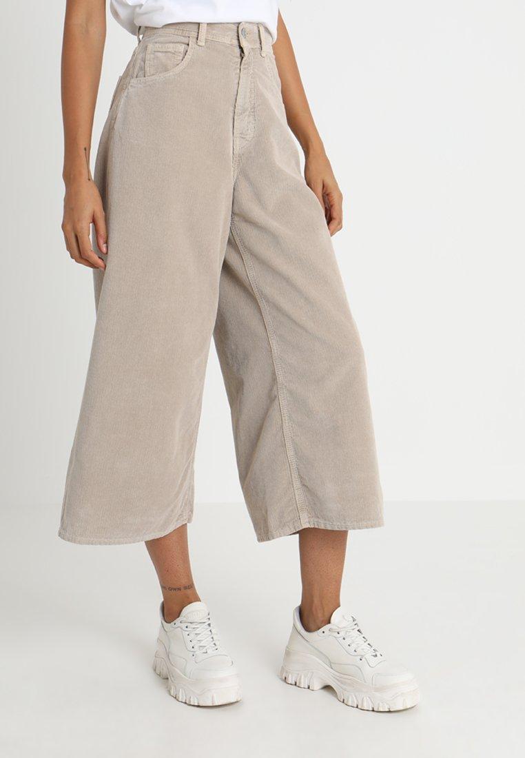Haikure - FRANCOFORTE - Pantaloni - simply taupe