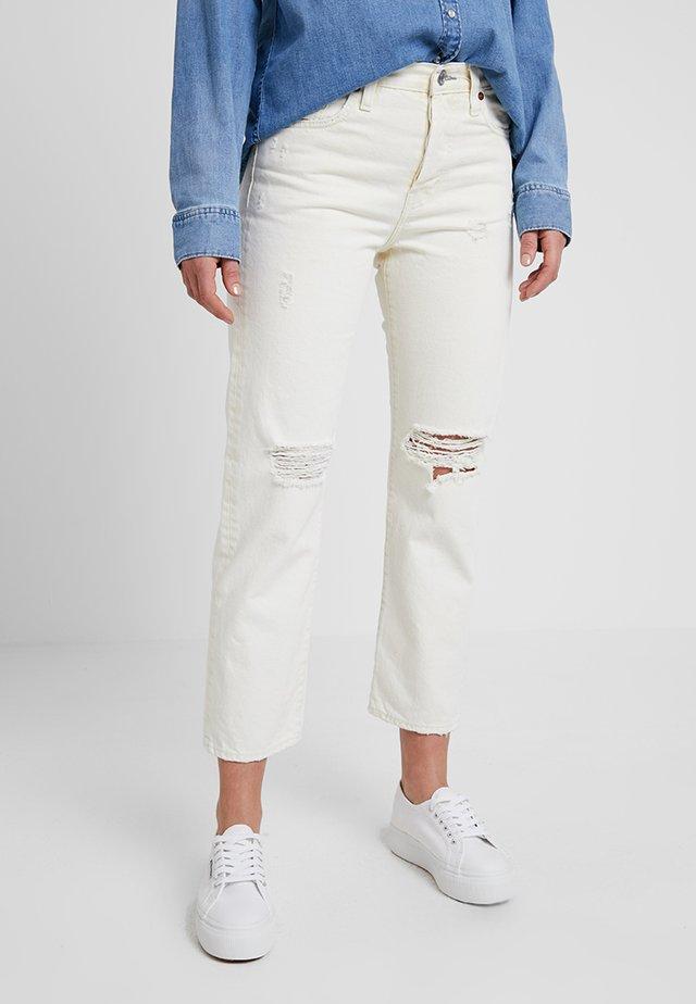 INDIANA - Jeans slim fit - old ecru denim