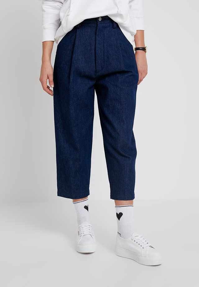HADID - Jeans Relaxed Fit - old blue denim dark tone