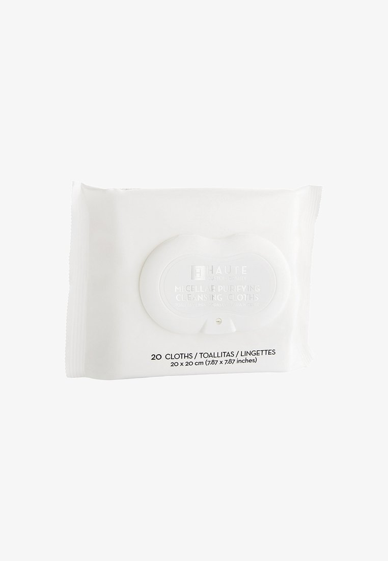 Haute Custom Beauty - MICELLAR PURIFYING CLEANSING CLOTHS 20 SHEETS - Cleanser - neutral