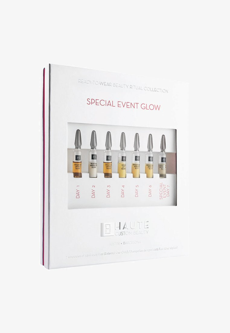 Haute Custom Beauty - SPECIAL EVENT GLOW - SEVEN DAY TREATMENT - Huidverzorgingsset - neutral