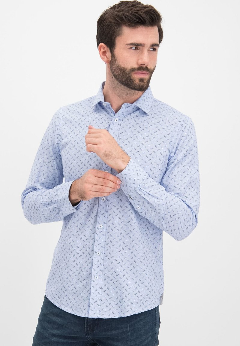 Haze&Finn - Slim Fit - Chemise - blue