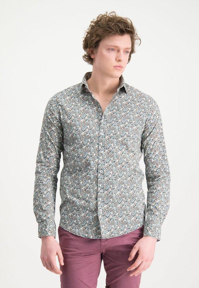 HAZE&FINN HEMD - Shirt - indigofloral