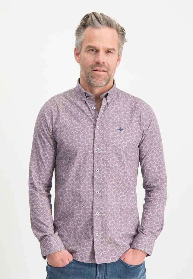 HAZE&FINN HEMD - Shirt - purple