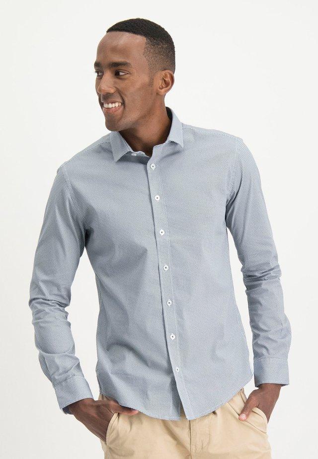 HAZE&FINN HEMD - Shirt - navytilted