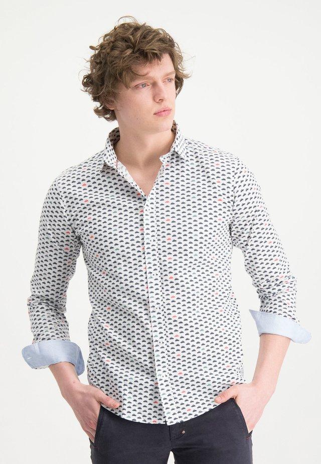 HAZE&FINN HEMD - Shirt - blue-grey