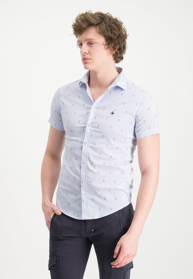 HAZE&FINN HEMD - Shirt - light blue