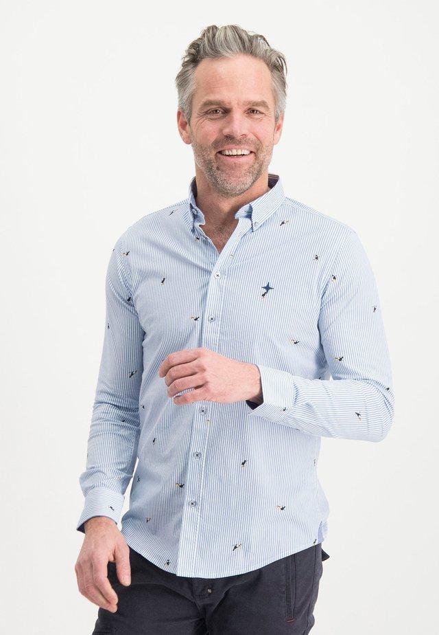 HAZE&FINN HEMD - Košile - bluestripedcoco