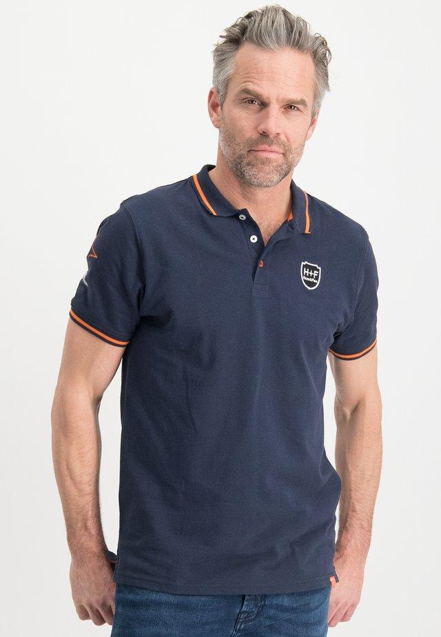 HAZE&FINN POLOSHIRT - Polo shirt - darknavy