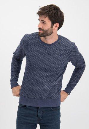 Sweater - dark navy melange