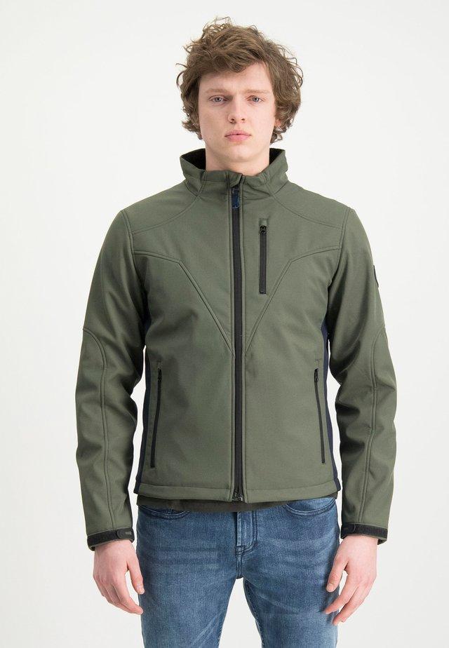 HAZE&FINN JACKE - Outdoorová bunda - armygreen