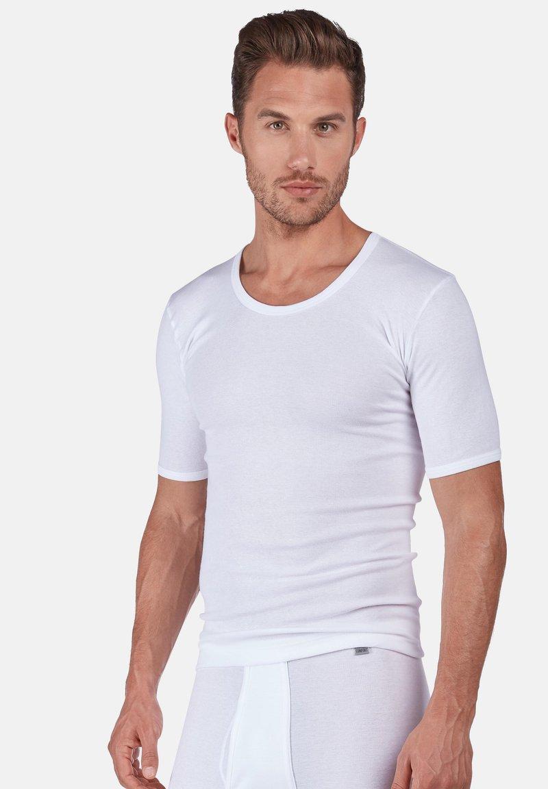 Huber Bodywear - SHORT ARM - Undershirt - white