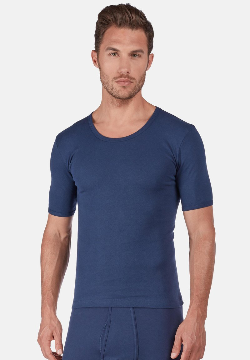 Huber Bodywear - SHORT ARM - Unterhemd/-shirt - marine