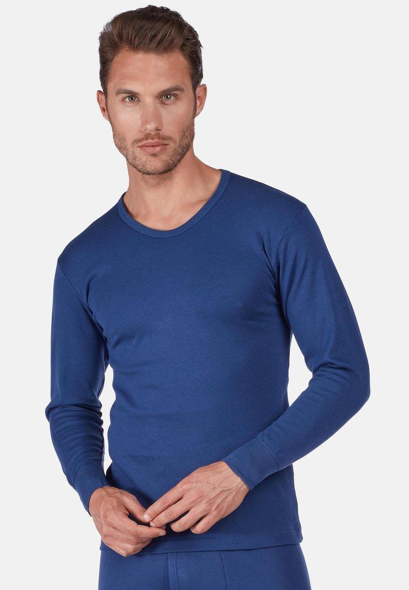 Huber Bodywear - Long sleeved top - marine