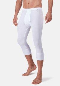 Huber Bodywear - MIT PRAKTISCHEM EINGRIFF - Base layer - weiss - 0
