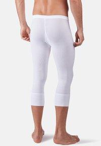 Huber Bodywear - MIT PRAKTISCHEM EINGRIFF - Base layer - weiss - 1