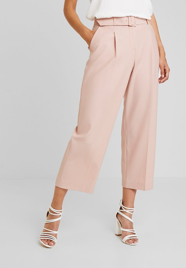 HEATHER TROUSER - Stoffhose - soft pink