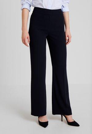 MINA TROUSER - Pantalones - navy