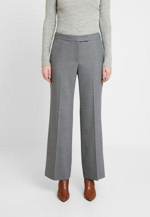 ADDISON TROUSER - Trousers - grey melange