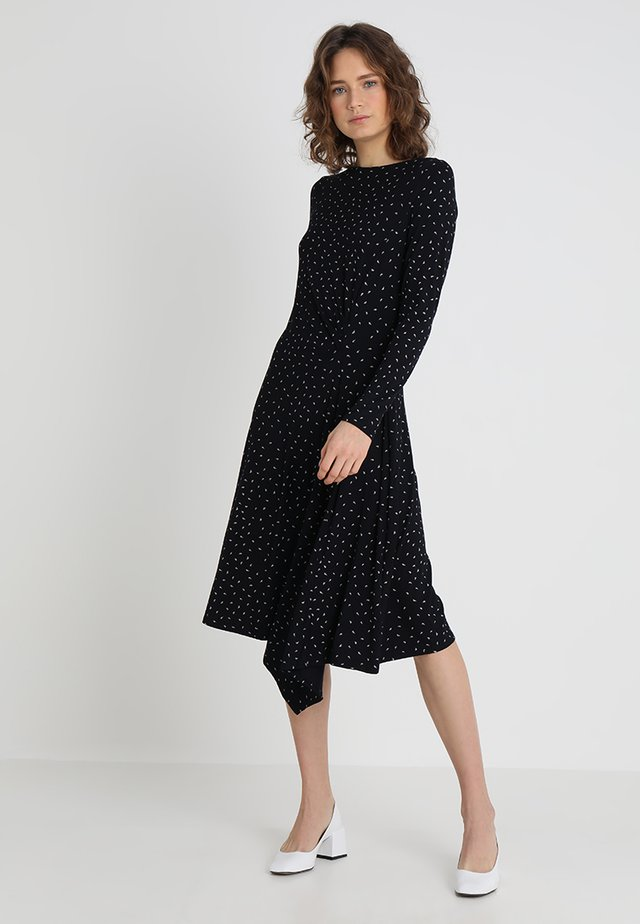 CARMEN DRESS - Maxi dress - navy/ivory