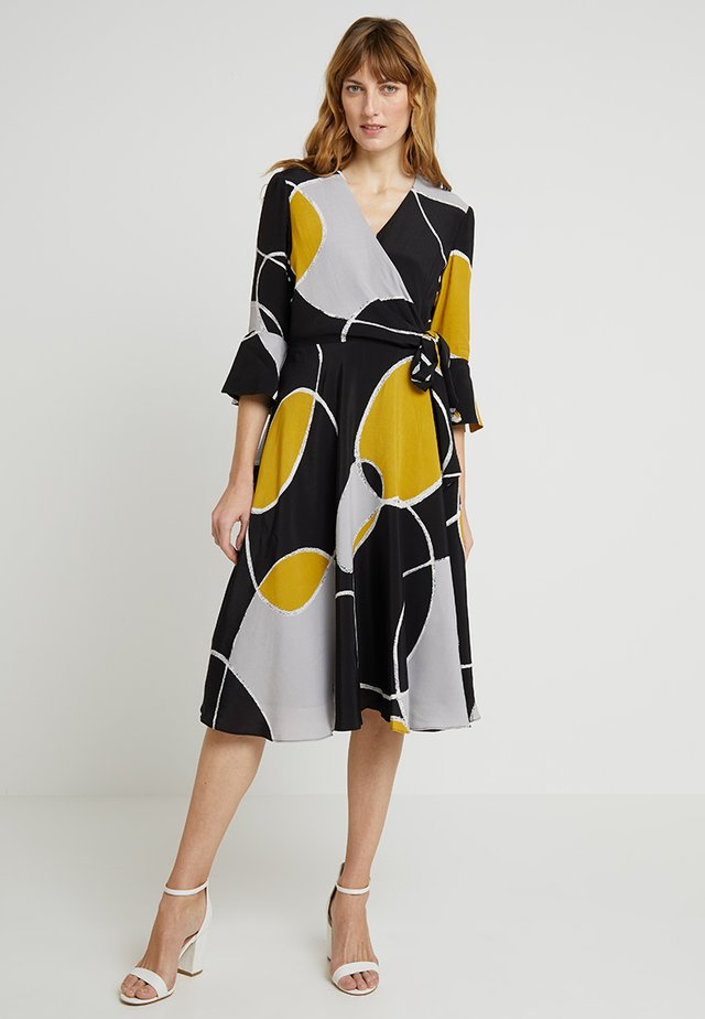 MARIAH DRESS - Kjole - black/multi