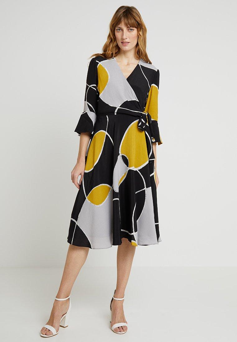 Hobbs - MARIAH DRESS - Korte jurk - black/multi