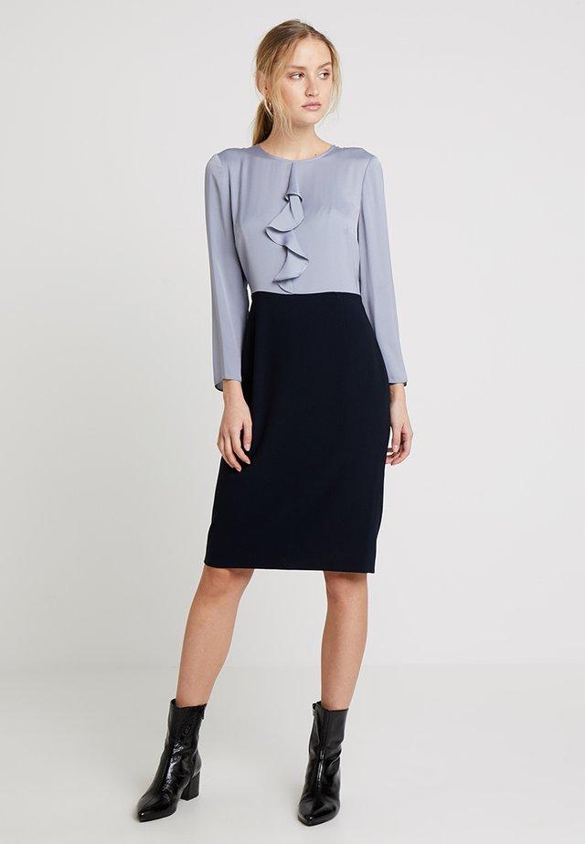 DANIA DRESS - Cocktailkjole - dusky blue navy