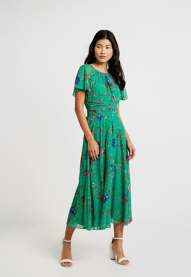 SARAH DRESS - Maxikleid - green/multi