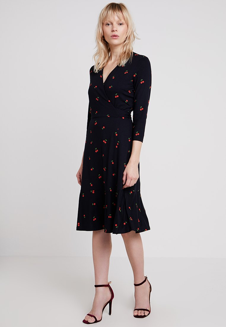 Hobbs - KELLY WRAP DRESS - Day dress - navy
